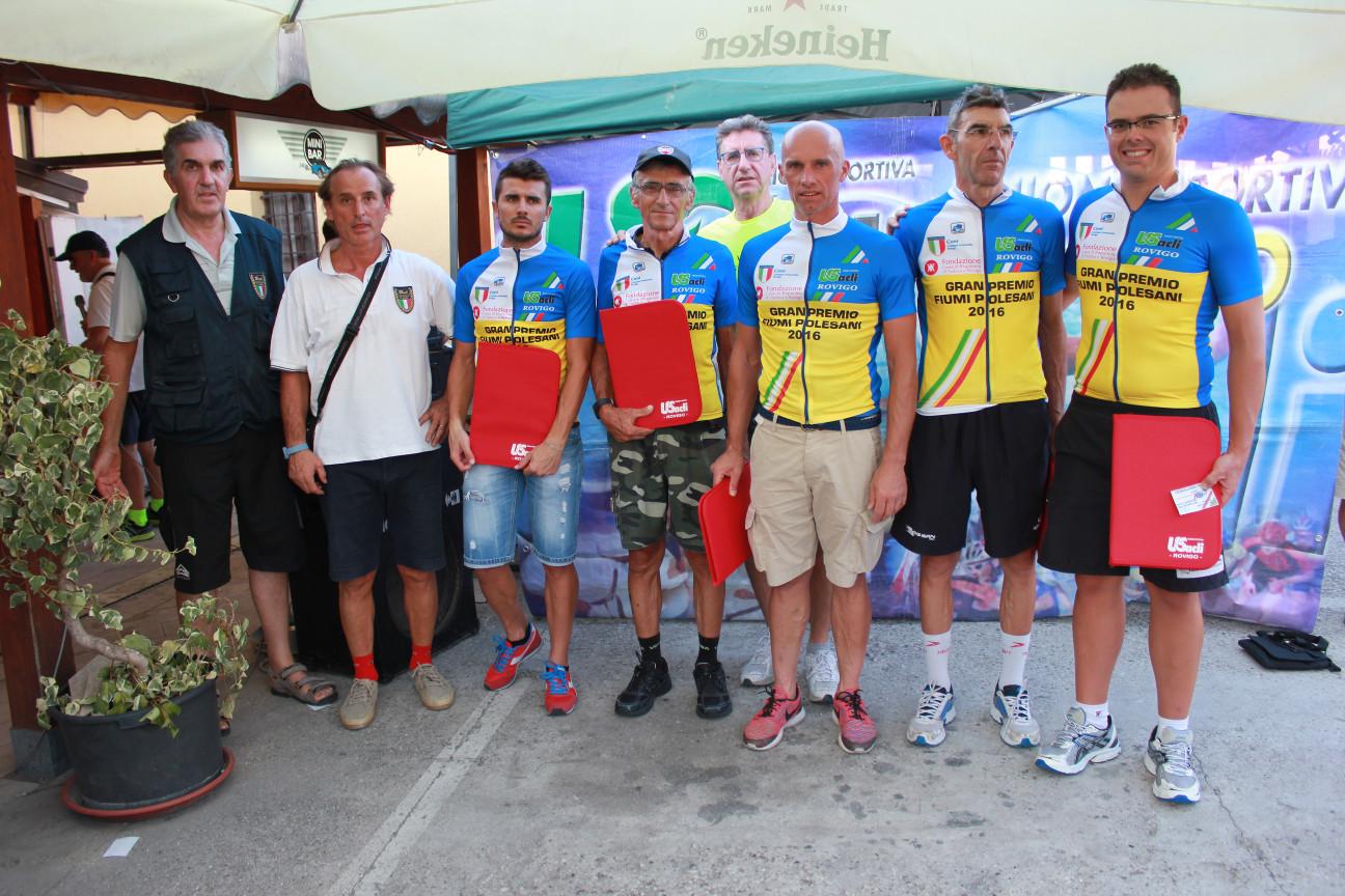 Premiazione 12° GP Fiumi Polesani