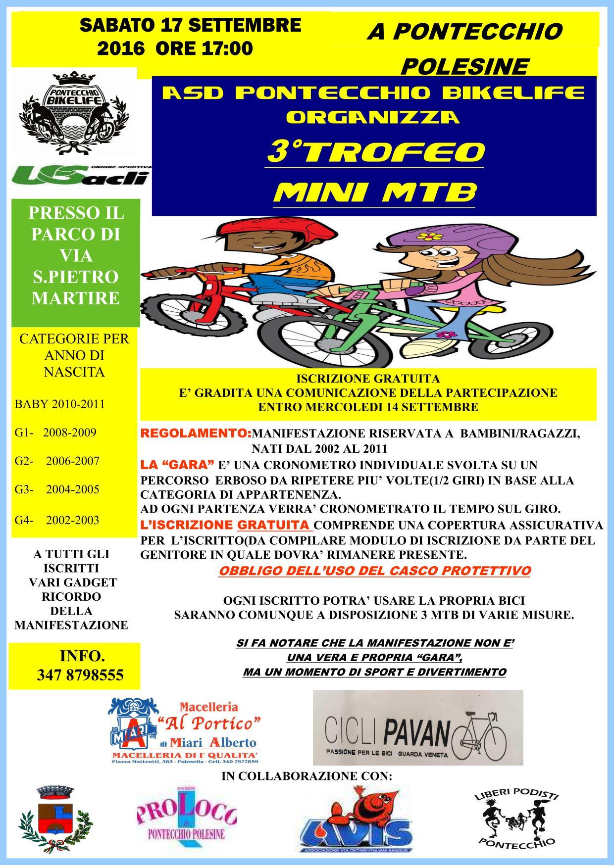 raduno pontecchio minimtb 17-09-2016