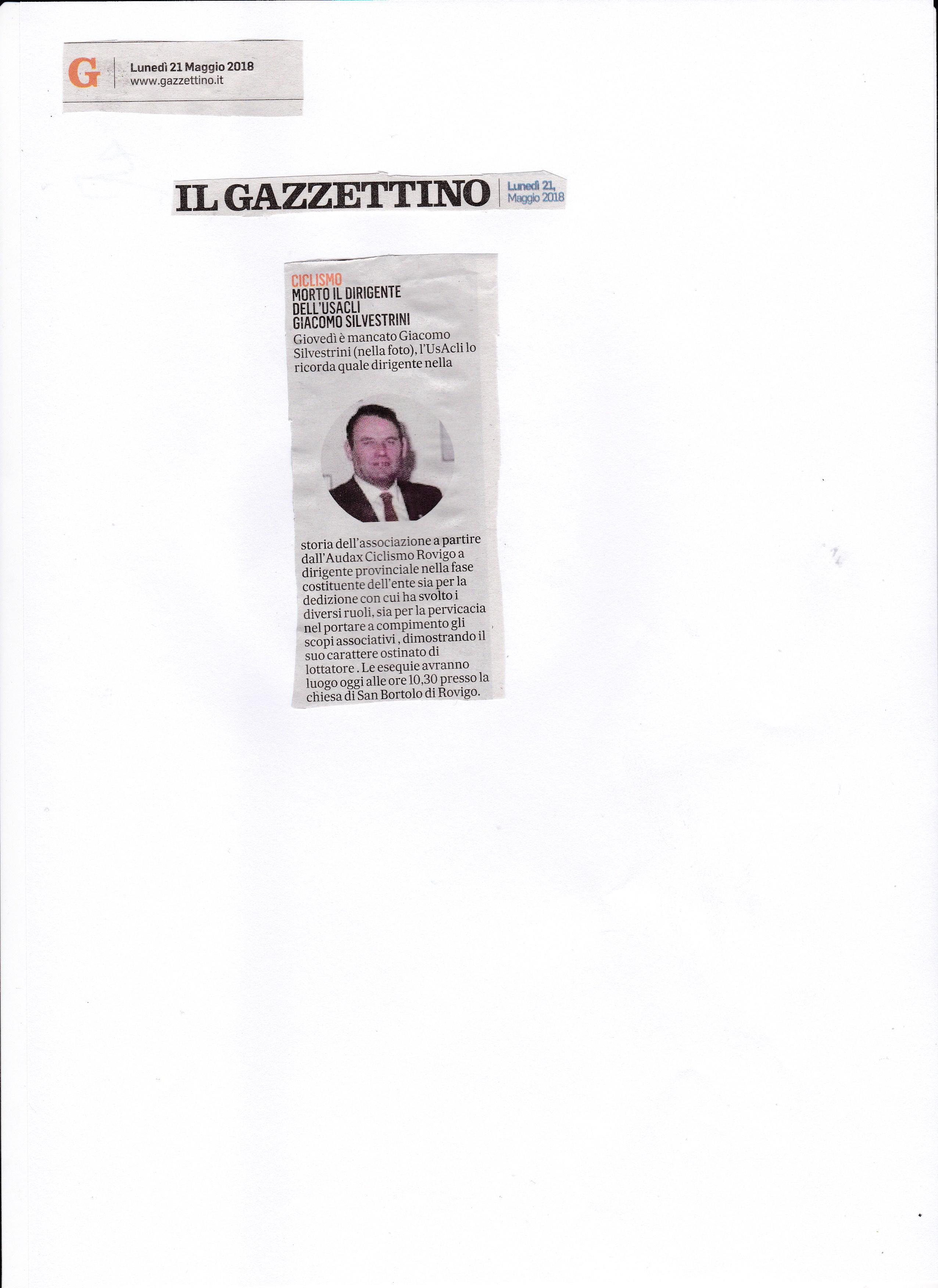 gazzettino 21 maggio