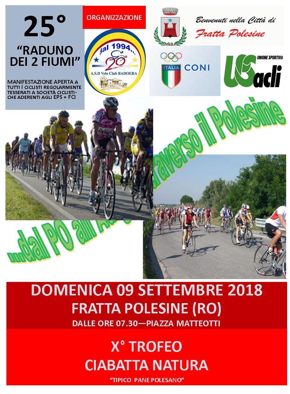 Fratta Polesine Raduno 2 Fiumi 9 settembre 2018